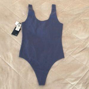 Aritiza Wilfred Free Blue Bodysuit